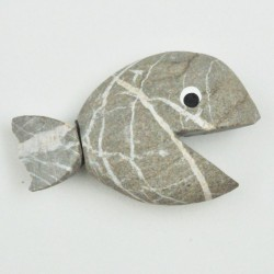 Steinfische Flusssteine